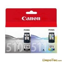 Imagen: 0 - Canon PG-510 / CL-511 Multi Pack Supl 2 Cartridges