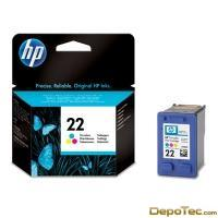 Imagen: 0 - HP Ink Cartridge No 22 Supl C/M/Y 5ML Sp