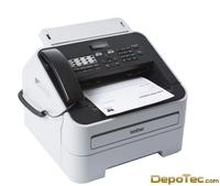 Imagen Brother FAX-2845 Laserfax 14PPM 250SHTSFAX 8MB 14.4KBPS In