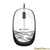 Imagen: 0 - Logitech Corded Mouse M105 White Accs Wer Occident Packaging In