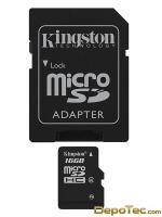 Imagen: 0 - Kingston 16GB Microsdhc Clase 4 Flash Card