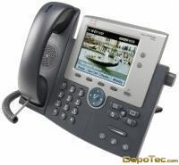 Imagen: 0 - Cisco Unified Ip Phone 7945 (LCD color, 2 RJ45, PoE)